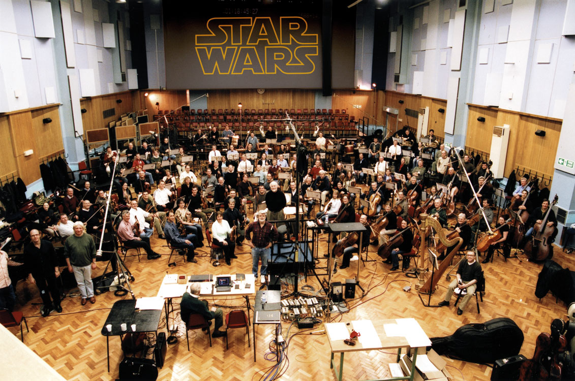 Star Wars Through the Years John Williams Orchestra Score Only